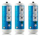 3er Set CO2 Flaschen