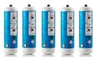 5er Set CO2 Flaschen